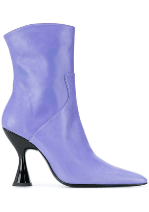 Dorateymur pointed toe ankle boots - Purple