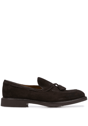 Doucal's tassel-detail loafers - Brown