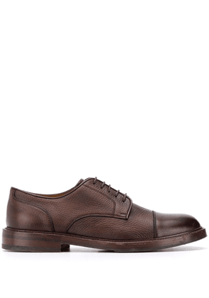 Brunello Cucinelli classic lace-up Derby shoes - Brown