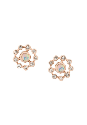 Astley Clarke Icon Nova Opal earrings - Metallic
