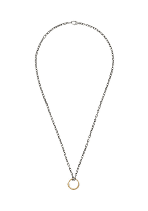 Gucci snake ring pendant necklace - 8170