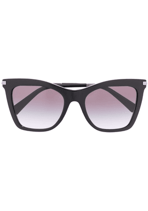 Valentino Eyewear cat eye sunglasses - Black
