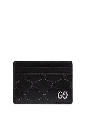 Gucci GG Signature card holder - Black