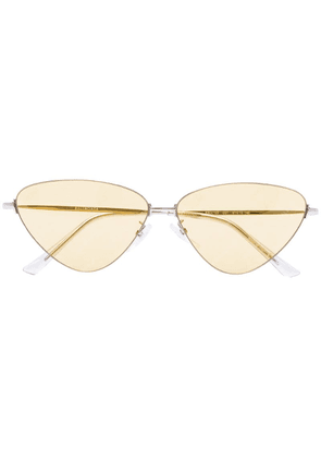 Balenciaga Eyewear cat eye sunglasses - Yellow