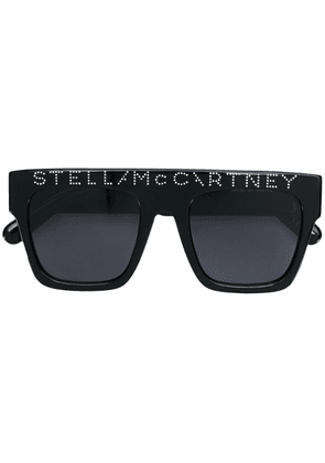 Stella McCartney Eyewear squared sunglasses - Black
