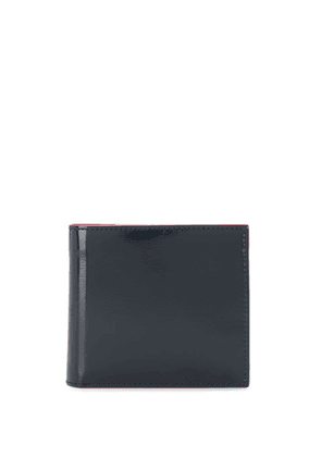 Thom Browne classic billfold wallet - Blue