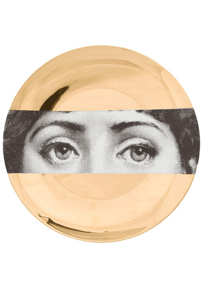 Fornasetti lacquered plate - Gold
