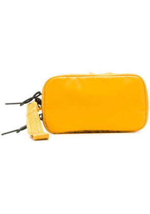 Diesel zipped beauty case - Yellow
