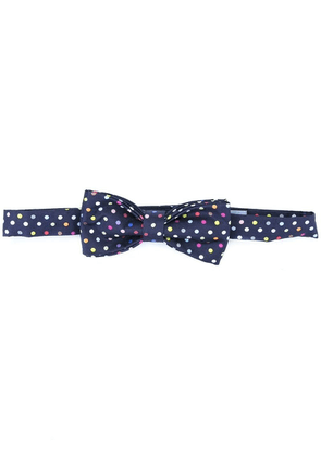 Fefè polka dot bow tie - Blue
