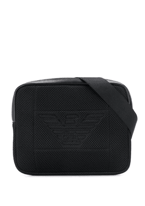Emporio Armani logo belt bag - Black