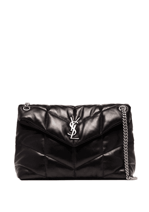 Saint Laurent medium Loulou puffer-style shoulder bag - Black