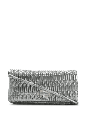 Miu Miu Matelassé shoulder bag - Silver