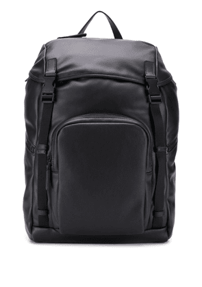 Prada drawstring top coulisse backpack - Black