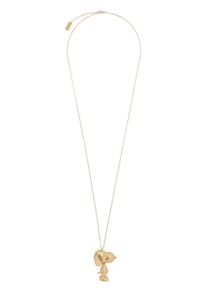 Marc Jacobs Snoopy pendant necklace - Gold