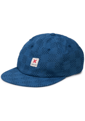 Best Made Company The Japanese Checkerboard ball cap - Blue