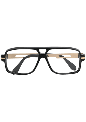 Cazal aviator frame glasses - Black