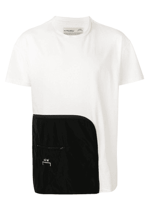 A-Cold-Wall* contrast panel T-shirt - White