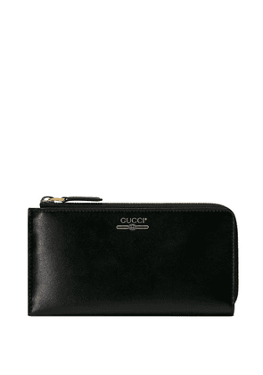 Gucci vintage logo zip-around wallet - Black