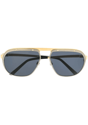 Cartier Santos de Cartier sunglasses - Black