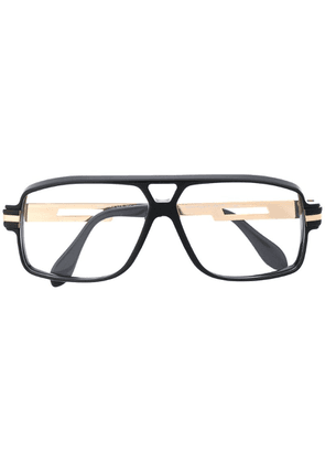Cazal classic aviator glasses - Black