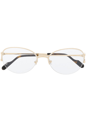 Cartier C Décor glass frames - Gold