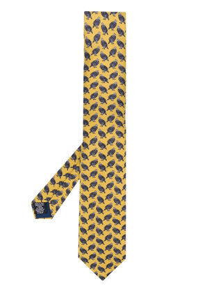 Holland & Holland Hugo Guinness pheasant tie - Yellow