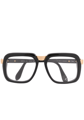 Cazal oversized square glasses - Black
