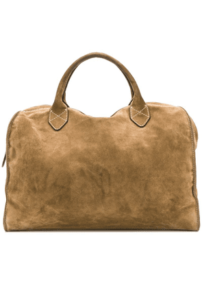 Holland & Holland suede holdall bag - Green