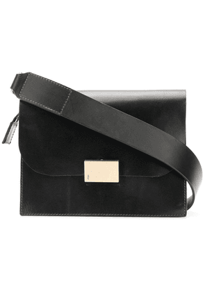 Ally Capellino flap shoulder bag - Black