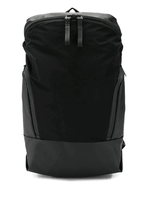 Côte & Ciel zip panelled backpack - Black