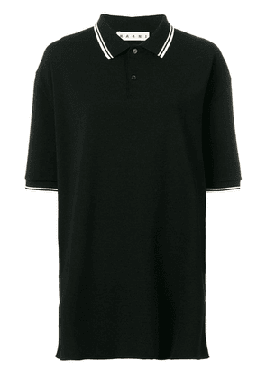 Marni oversized polo shirt - Black