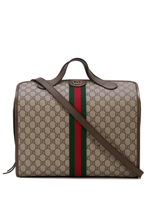 Gucci Ophidia GG small carry-on duffle - Brown