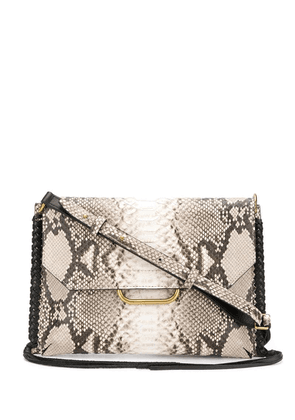 Isabel Marant snakeskin shoulder bag - Neutrals
