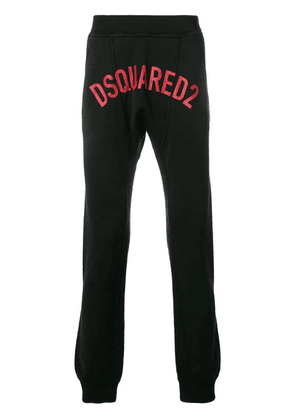Dsquared2 printed logo track pants - Black