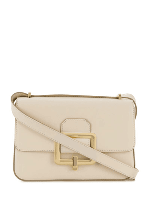 Bally Janelle buckle shoulder bag - White