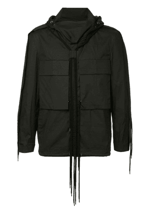 Craig Green long-sleeved shirt jacket - Black