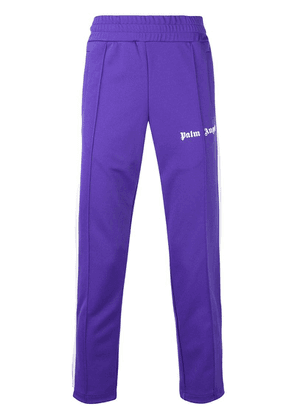Palm Angels side-striped track pants - Purple
