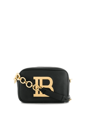 Balmain B logo crossbody bag - Black