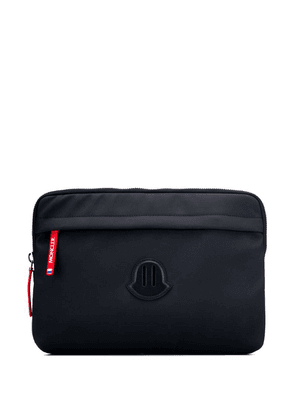 Moncler logo laptop case - Blue