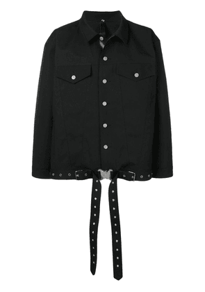 Mackintosh 1017 Alyx 9SM Black Bonded Wool Denim Jacket