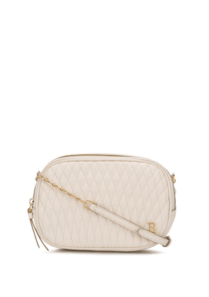 Bally quilted shoulder bag - White