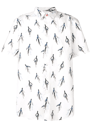 PS Paul Smith printed shirt - White