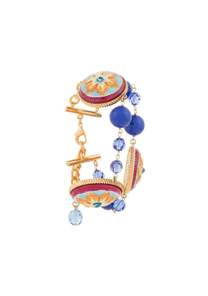Dolce & Gabbana wrap around bracelet - Multicolour