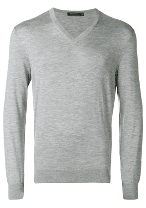 Ermenegildo Zegna V-neck sweater - Grey