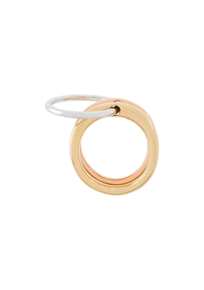 Charlotte Chesnais Neo Lover ring - Metallic