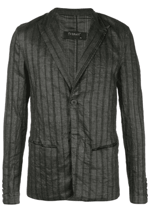 Transit striped blazer - Black