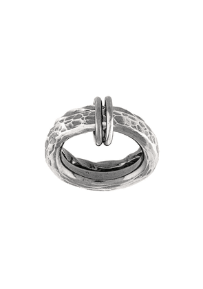 Chin Teo Apollo & Artemis ring - Metallic
