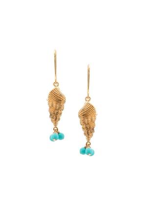 Aurelie Bidermann Roudoudou earrings - Blue