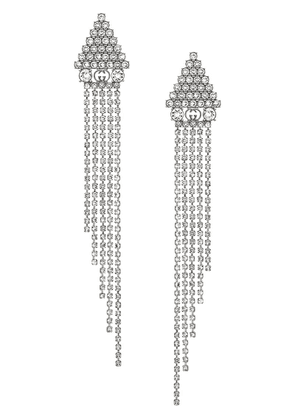 Gucci Metal earrings with crystals - Metallic