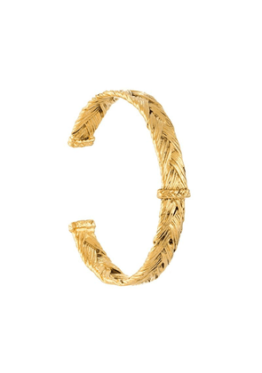 Aurelie Bidermann 'Icare' open bracelet - Metallic